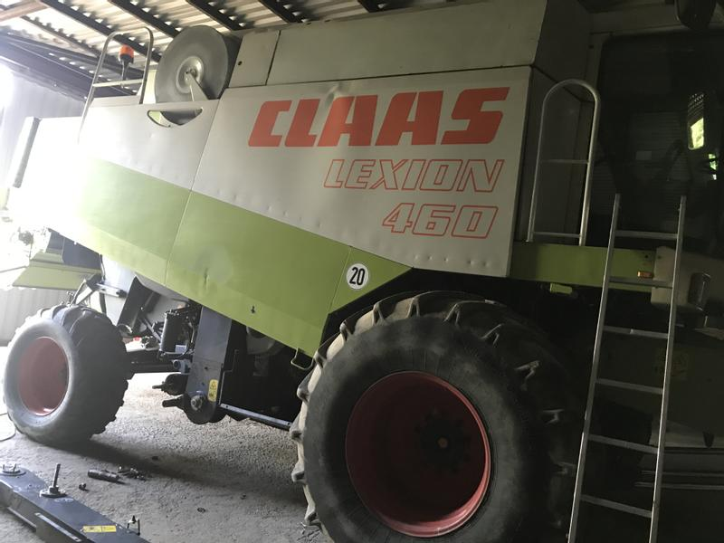Claas Lexion 460 Heder V660