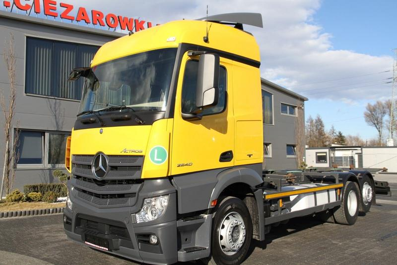 Mercedes-Benz ACTROS 2540 6x2 E6 CHASSIS