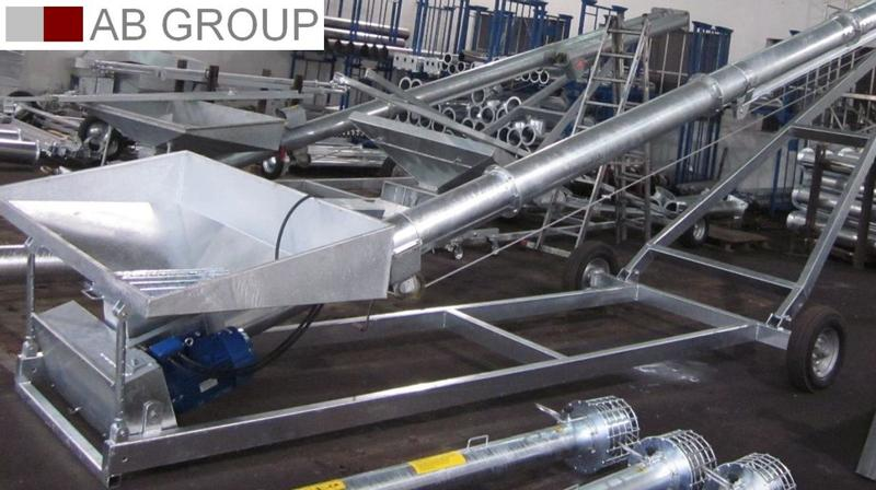 MAGROTEX  Überladeschnecke 250 mm /Screw conveyor /Transporteur