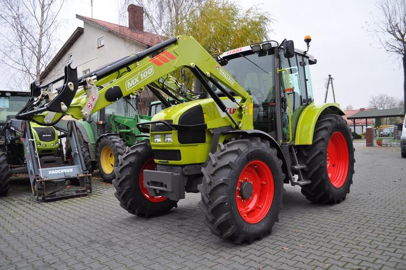 Claas ARES 556 RZ + MAILLEUX MX100 **Nettopreis**