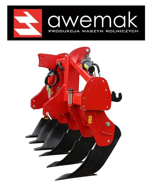 "Awemak Single-beam Subsoiler ""STRAIGHT"" tines HIGHEST QUALITY!!"