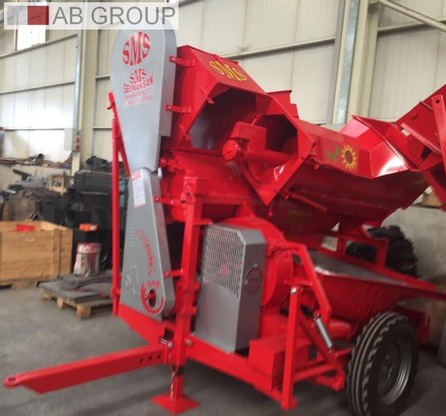 Sms Selmaksan Sonnenblumen dreschmaschine/Conveyor Sunflower Seed Thresher